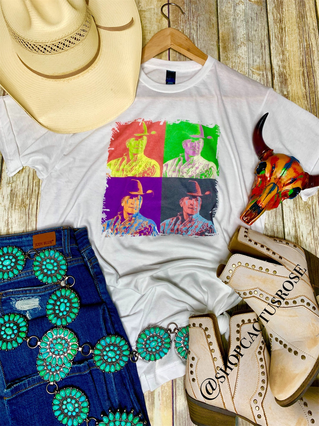 Technicolor George Strait Tee