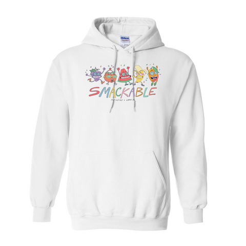 Smackable White Hoodie