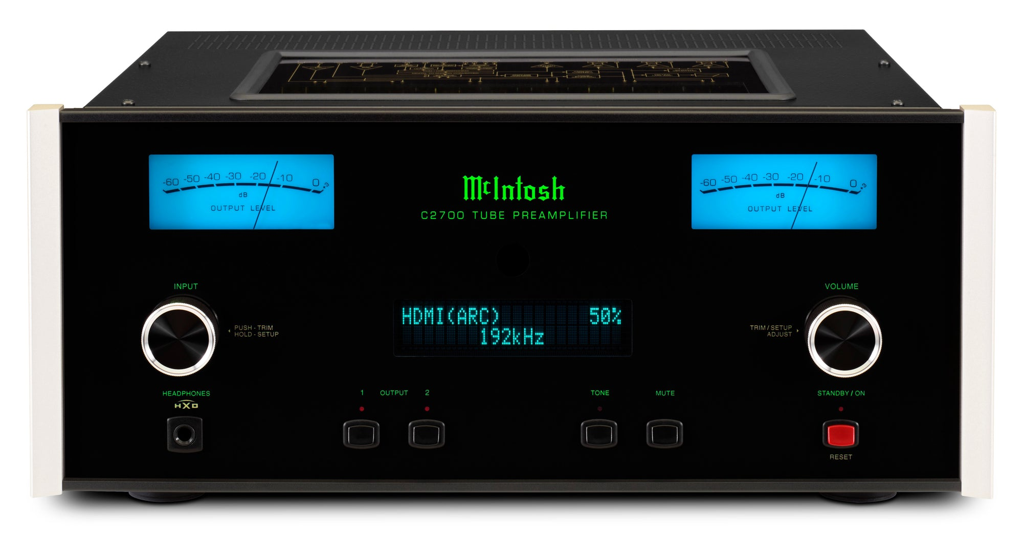 McIntosh C2700 Tube Preamplifier Arrives