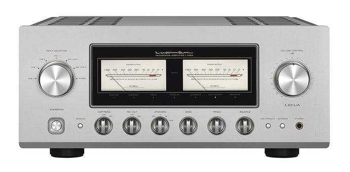 Luxman Amplifiers Arrive