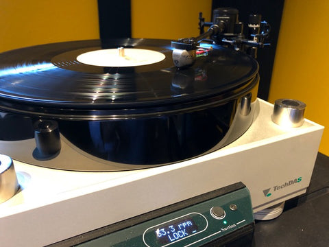 Ortofon MC Anna Diamond Graham B44 Phantom III TechDAS V turntable