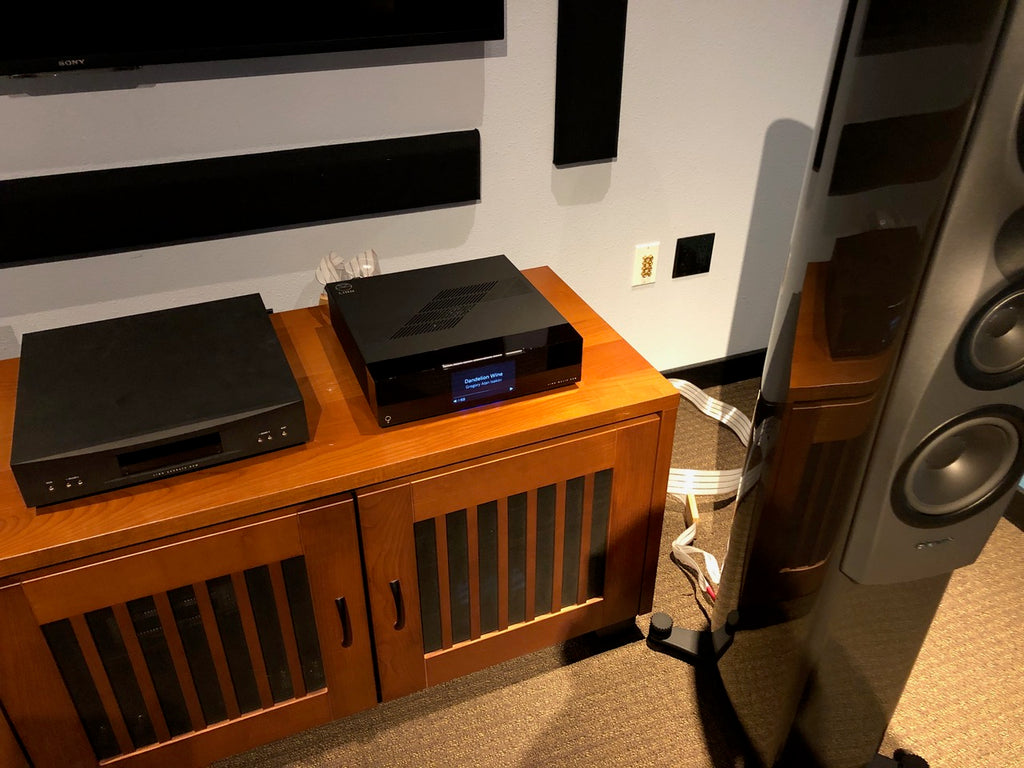 Linn's new Majik DSM/4 with Dynaudio Contour Speakers and Nordost Valhalla