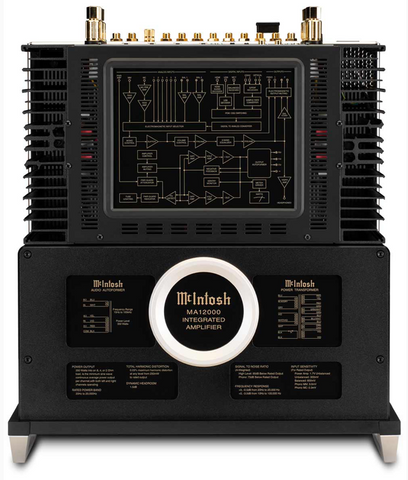 McIntosh MA12000 Hybrid Integrated Amplifier Top View