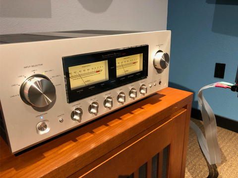 Luxman L-590 Class A Integrated Amplifier