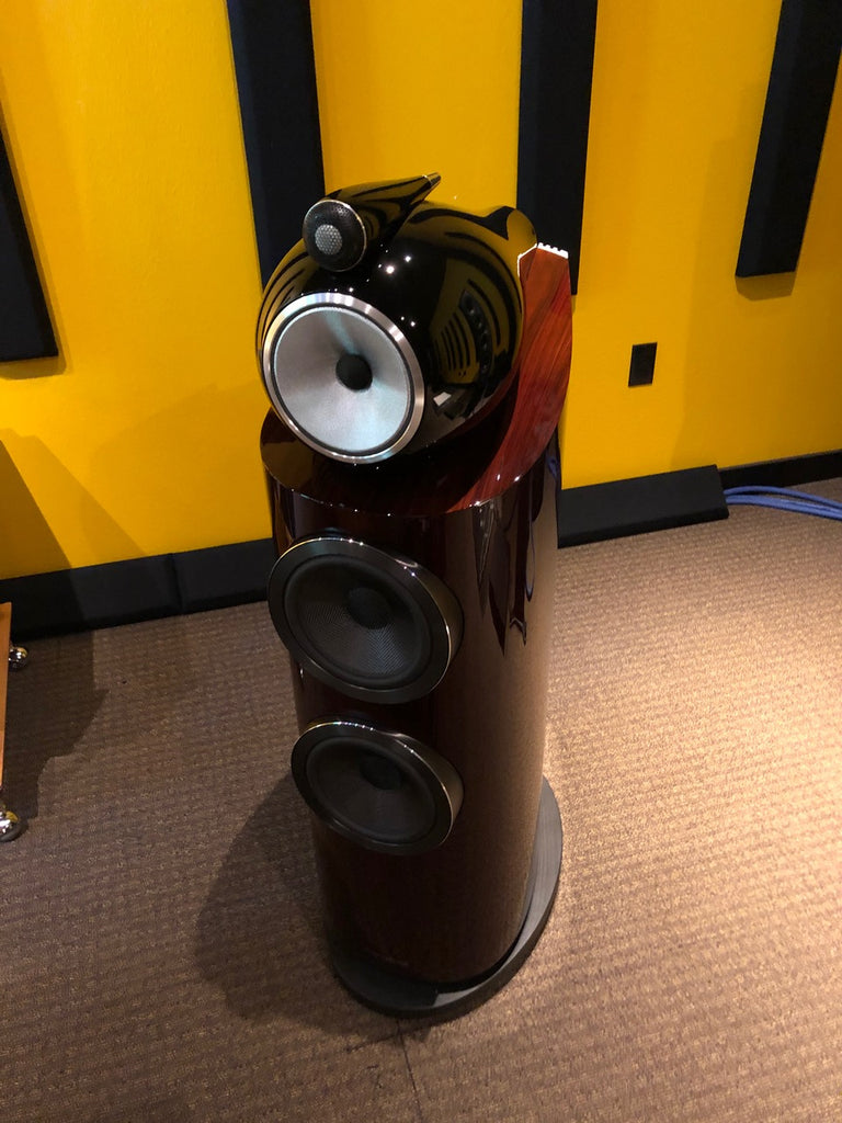 Bowers & Wilkins 802 D3 Prestige in Portland Oregon Pearl Audio Big Sound Room