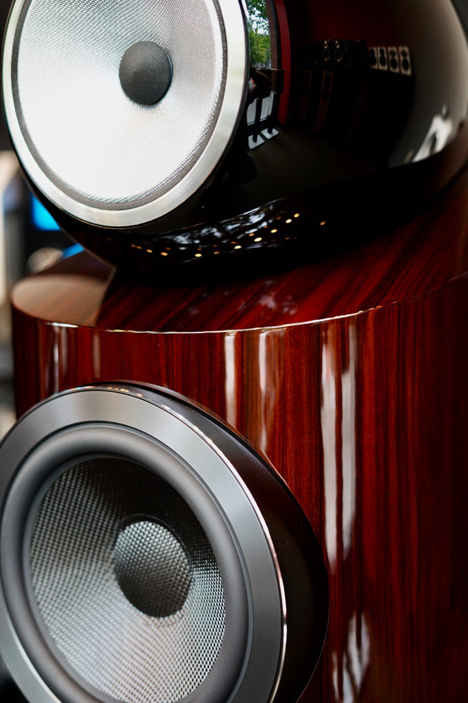 Bowers & Wilkins 802 D3 Prestige Aerofoil Woofer Closeup