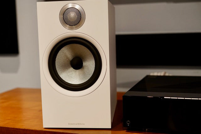 Bowers & Wilkins 606 S2 Speaker front showing Continuum woofer and new tweeter.