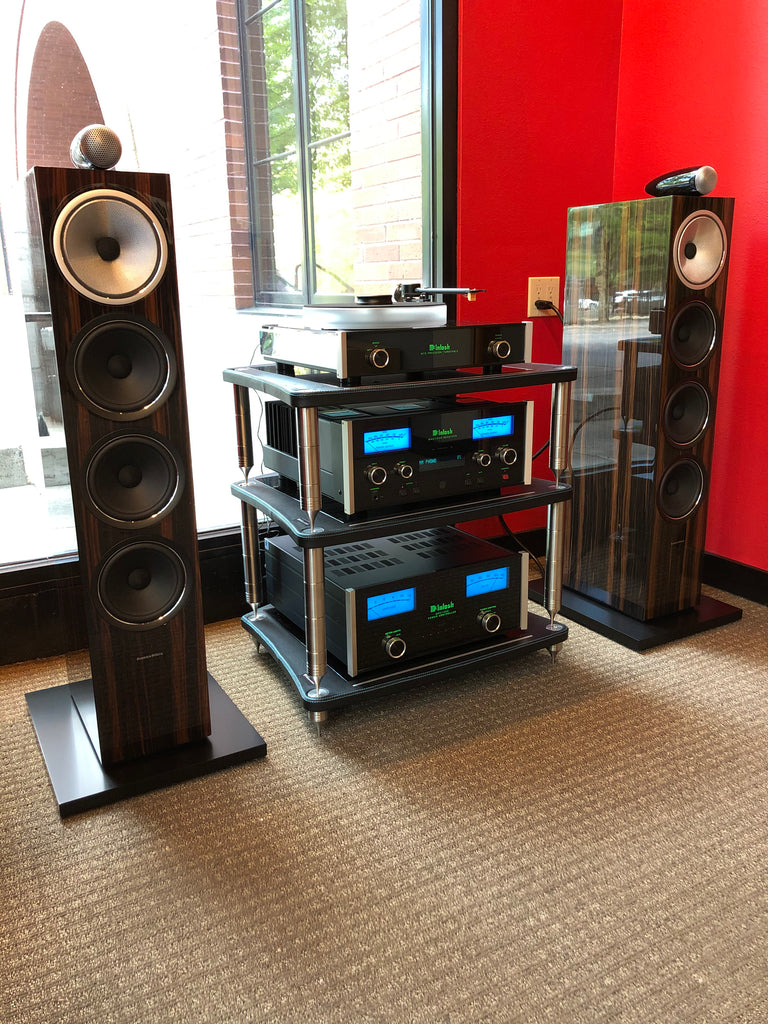 Bowers & Wilkins 702 Signatures with McIntosh MT5, MAC7200, and MPC1500