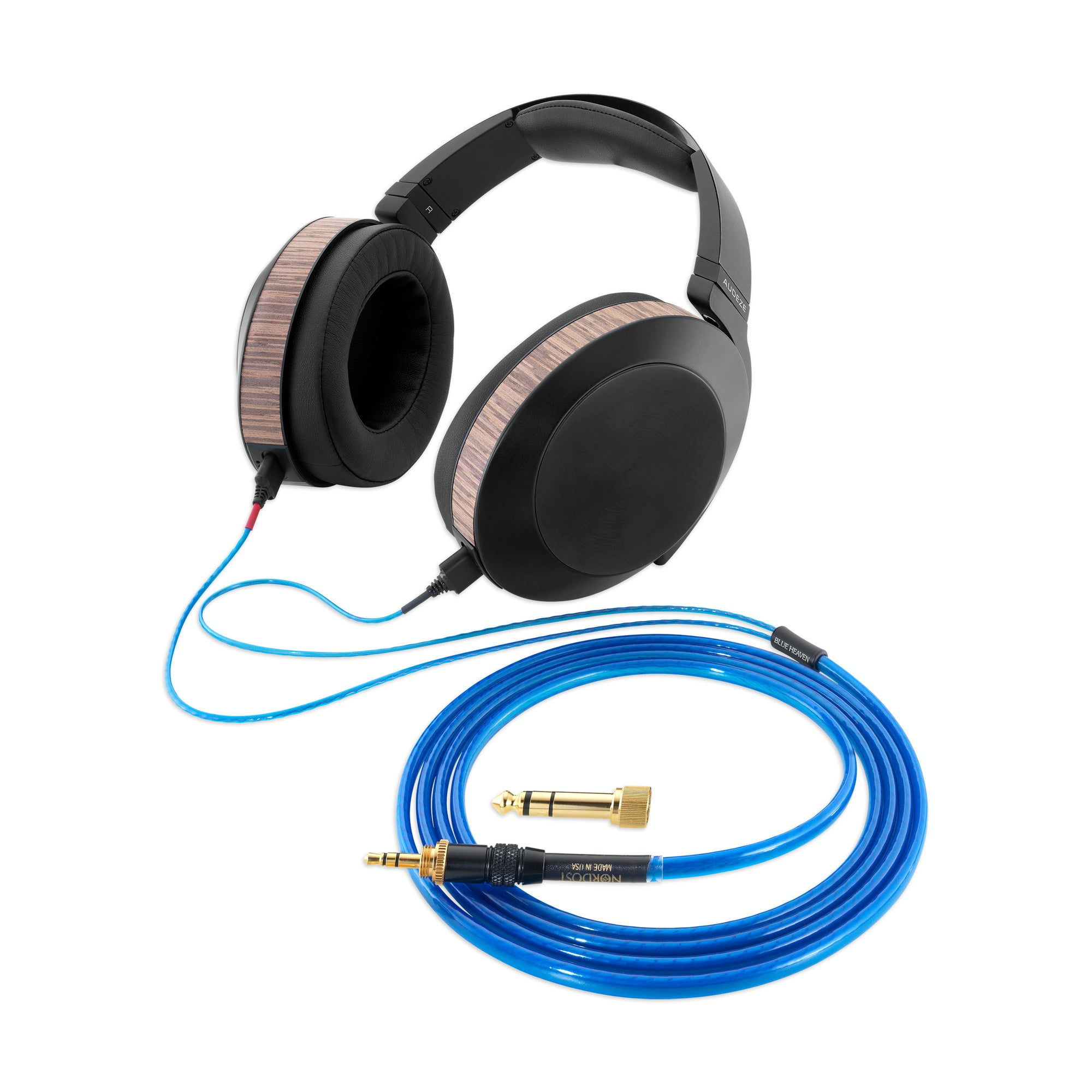 Blue Heaven Headphone Cable