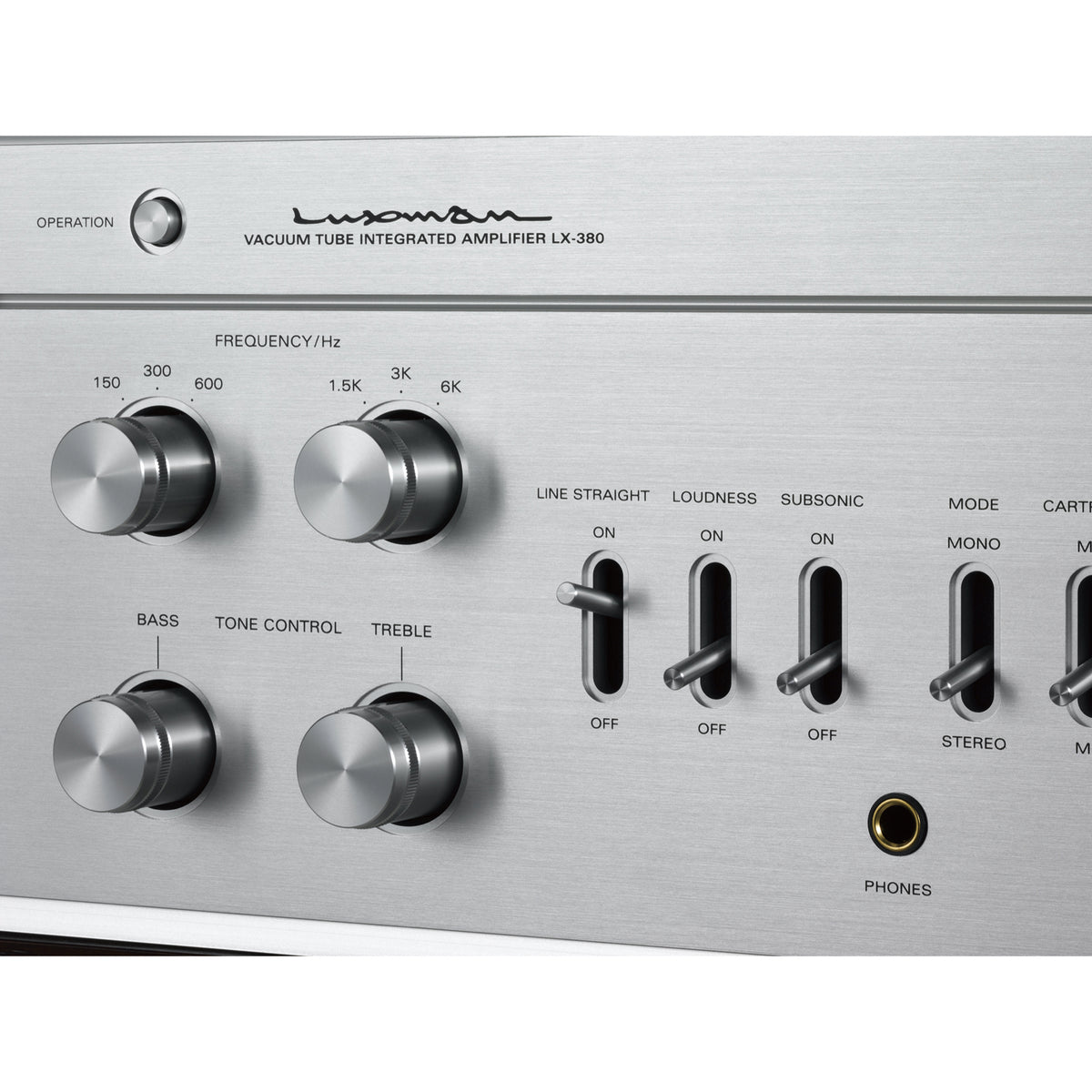 LX-380 Tube Integrated Amplifier