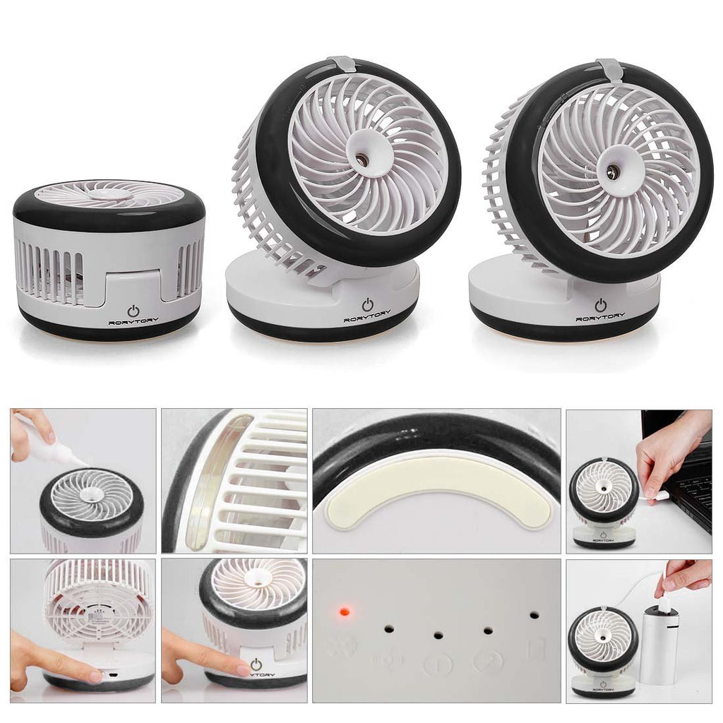 Portable Fan Humidifier Power Bank Yes Deals Powerbank 2 In 1