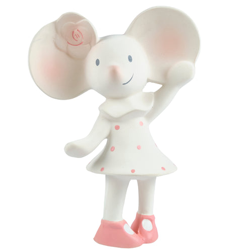 Meiya the mouse rubber baby teether squeaker