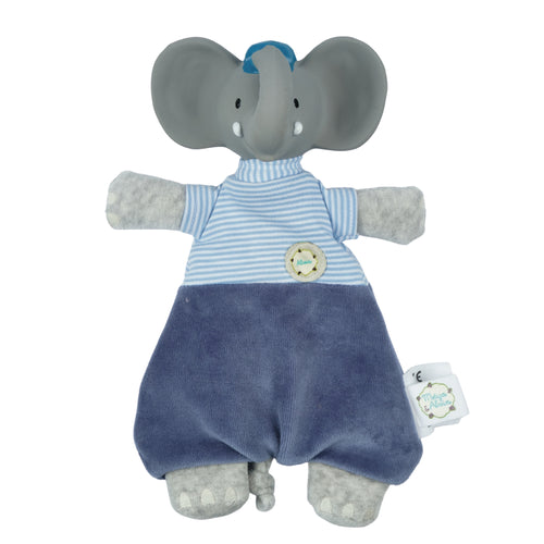 Alvin the Elephant baby lovey and teether