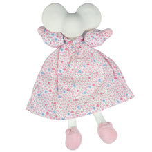 Meiya the mouse floral baby lovey and teether