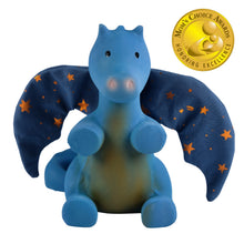 Midnight Dragon Rubber Baby Teether and Rattle in Gift Box