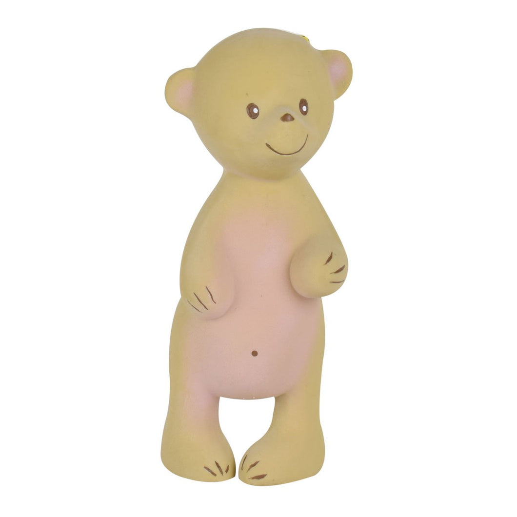 Chooti Bear Natural Rubber Squeaker - Tikiri Toys