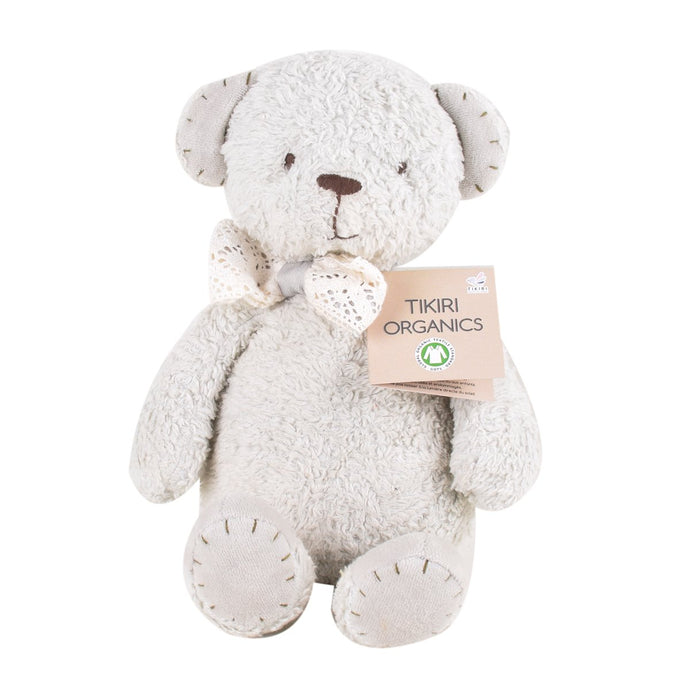 Tikiri Organic Bear Toy (Medium Size) - Tikiri Toys