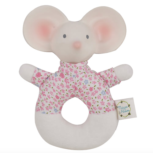 Baby teether UK - Soft baby rattle