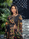 Midnight Jade - Unstitched 3pc Linen Digital Printed Embroidered Shirt with Digital Printed Linen Dupatta & Linen Trouser.(WK-00611)