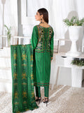 3pc Printed Cambric Shirt with Printed Lawn Dupatta & Cambric Trouser - Inaya (IP-00042A)