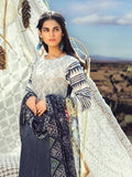 Unstitched 3pc Printed Lawn Embroidered Shirt with Printed  Embroidered Chiffon Dupatta - FAUSTINA (WK-501B)