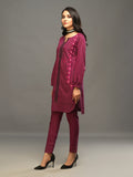 Sticthed 1pc Two Toned Kurti   - Casual Pret (CP-00025)