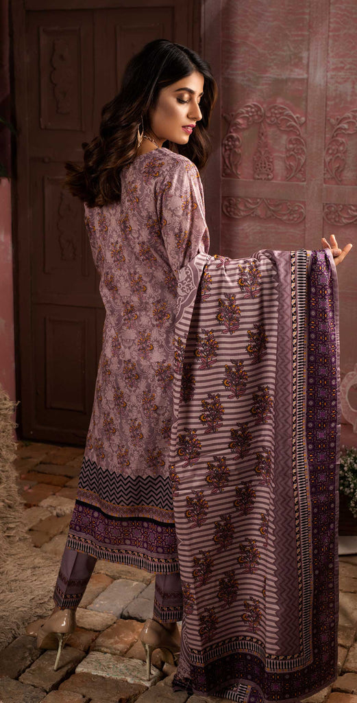 Unstitched 3pc Printed Lawn Shirt with Printed Lawn Dupatta - INAYA (IP-02A)