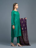 Unstitched 3pc Viscose Jacquard  Shirt and  Dupatta with vicose trouser-  Viscose Jacquard (Rc-00215)