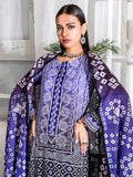 3pc Printed Cambric Shirt with Printed Lawn Dupatta & Cambric Trouser- Inaya (IP-00043B)