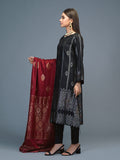 Unstitched 3pc Viscose Jacquard  Shirt and  Dupatta with vicose trouser-  Viscose Jacquard (Rc-00219)