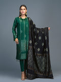 Unstitched 3pc Viscose Jacquard  Shirt and  Dupatta with vicose trouser-  Viscose Jacquard (Rc-00217)