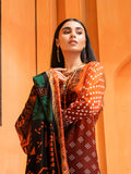 Unstitched 3pc Printed Lawn Embroidery Shirt with Printed Lawn Dupatta - INAYA2 (IP-20A)