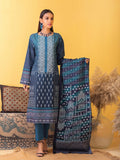 Unstitched 3pc Printed Lawn Shirt with Printed Lawn Dupatta & Dyed Cambric Trouser - Inaya (IP-00033B)