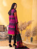 Unstitched 3pc Printed Lawn Shirt with Printed Lawn Dupatta & Dyed Cambric Trouser - Inaya (IP-00036A)
