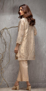 Stitched Mysorie Coat with Front , Back and Sleeves Embroidered. Coat Pattern. (PR-15)