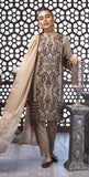 Festive Eid Jacquard Lawn Dress with Embroidered Front  & Trouser Bunches I 3pc (WK-298)