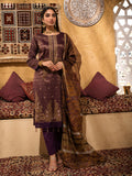3pc Jacquard Embroidered Shirt With Khaddi Dupatta and cambric Trouser- (WK-00635)