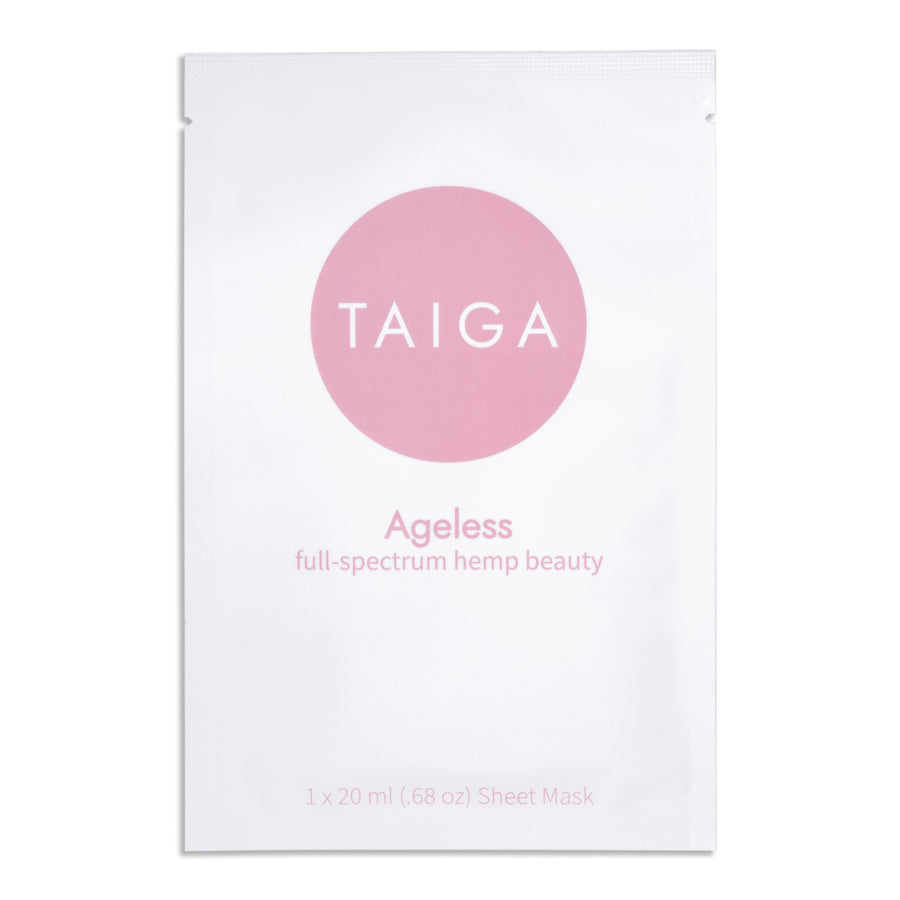 Ageless - Full-Spectrum Biocellulose Sheet Mask