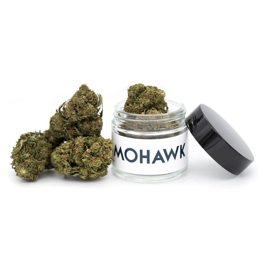 Mohawk Hemp - Frosted Lime - Smokable Hemp Flower