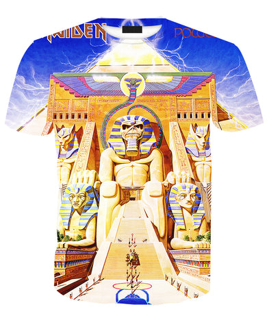 Iron Maiden Powerslave Zip/Pullover Hoodie & T-shirt