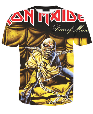Iron Maiden Piece of Mind Zip/Pullover Hoodie & T-shirt