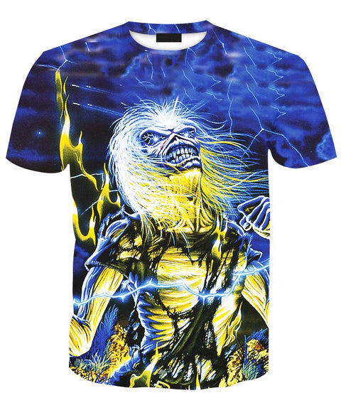 Iron Maiden Piece Live After Death Zip/Pullover Hoodie & T-shirt