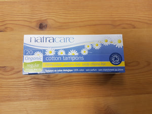 Natracare tamponger regular