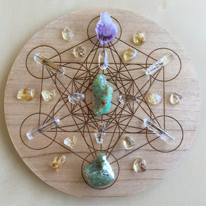 Instructions for Using a Crystal Grid