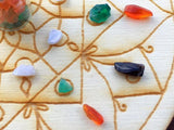 Mini Grid - Calming Agate Mandala Grid - little-gems-metaphysical-store