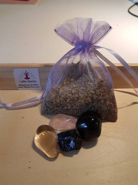 Mojo Bag - Ease My Grief Bag - Little Gems Metaphysical Store
