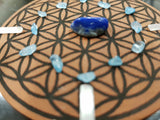 Rooted with Clarity - Root & Crown Chakra grid - little-gems-metaphysical-store