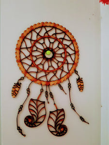 Dream Catcher - Caught Your Dreams Wooden Dream Catcher - Little Gems Metaphysical Store