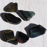 Hawks Eye Tumbled Stones - little-gems-metaphysical-store