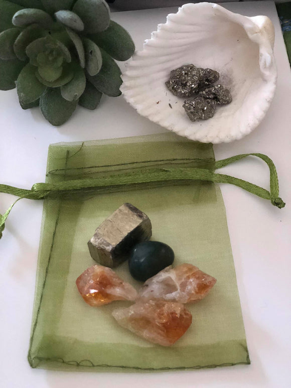 Abundance Ritual Mojo Bag - little-gems-metaphysical-store